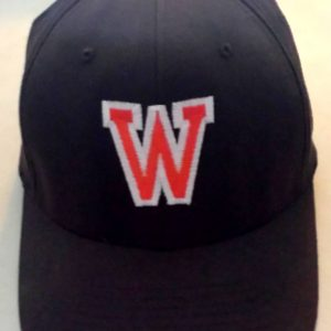 Brown Baseball Cap with W