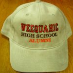 Khaki Hat with WHS Alumni