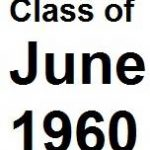 Class of June 1960