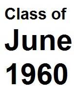 Class of June 1960