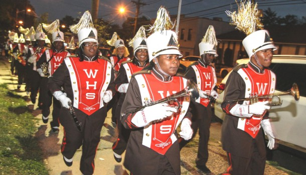Weequahic Band Uniforms1
