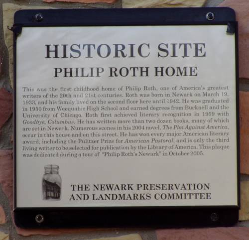 Philip Roth Historic Site