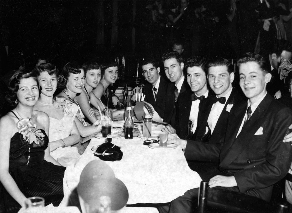 Philip Roth at Prom, Jan. 1950