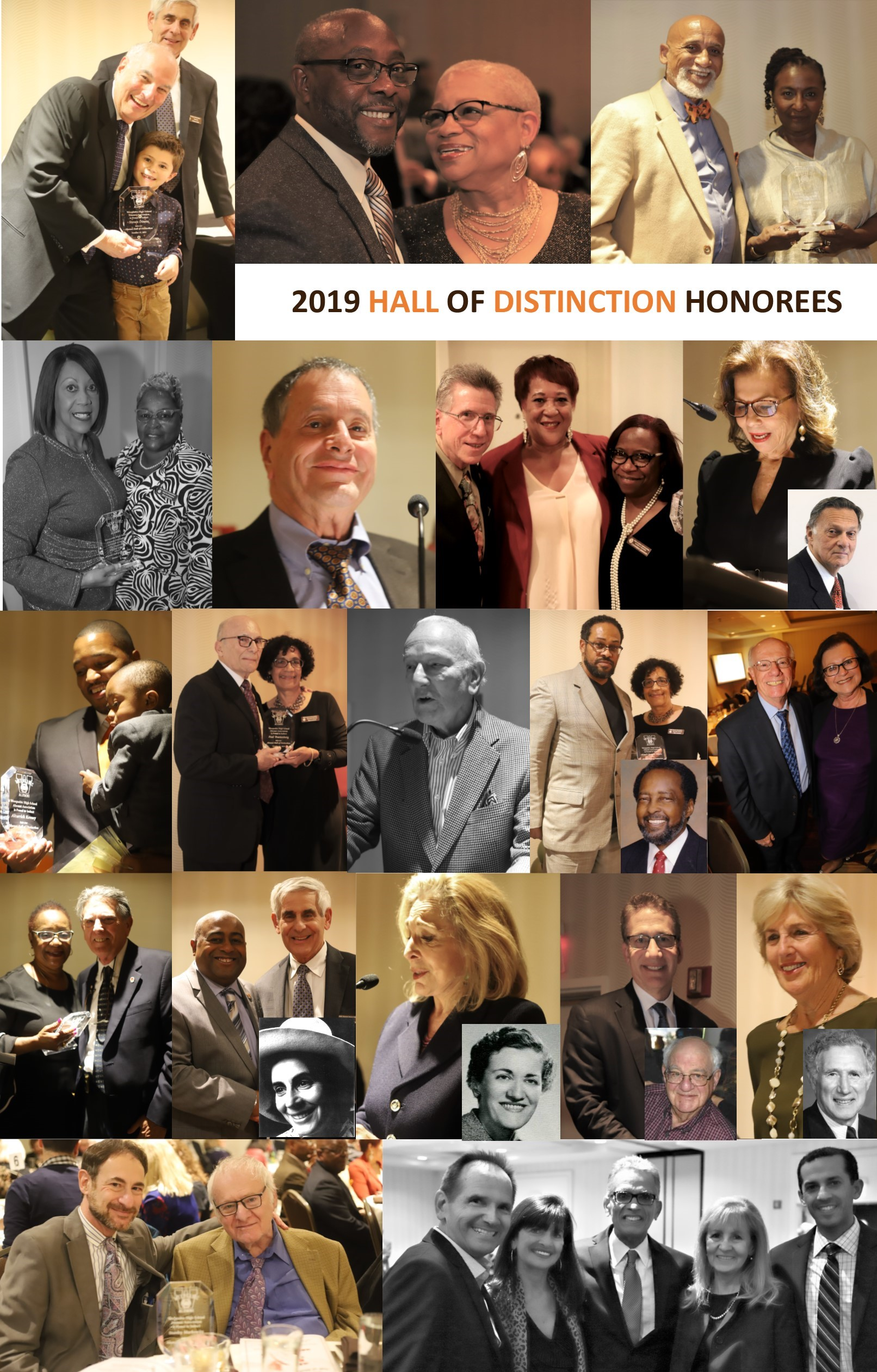 Hall of Distinction Collage
