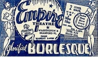 Empire Burlesque Ad