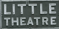 Little Theatre Sign