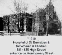 St. Barnabas Hospital, 1910