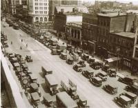Broad Street Traffic in 1924