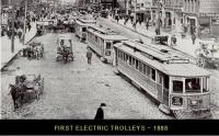 Electric Trolleys - 1888