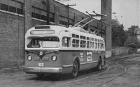 Public Service Electric Trolley