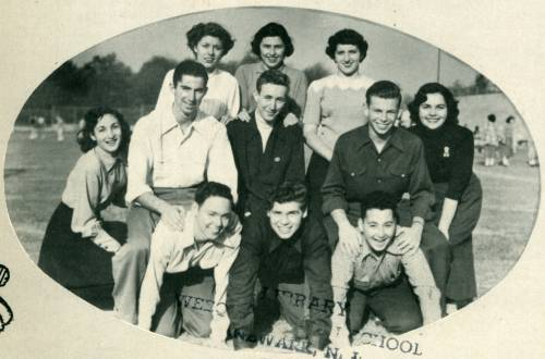 Philip Roth Group Pic 1950 2