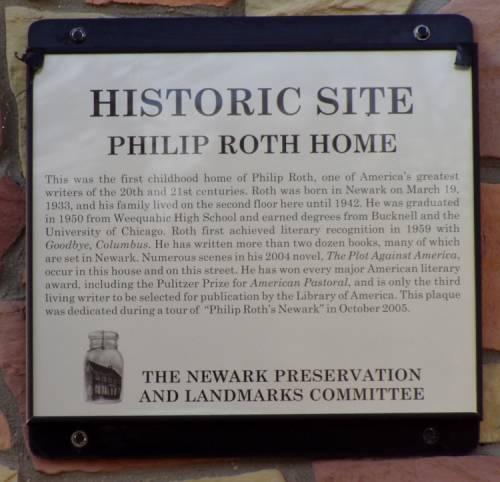 Philip Roth Historic Site
