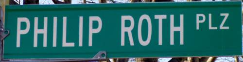 Philip Roth Plaza Sign