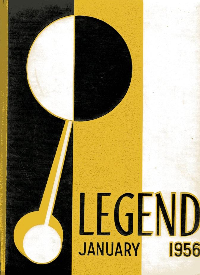 Class of Jan. 1956 Legend Yearbook