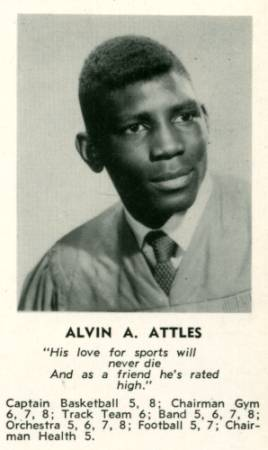 Alvin Attles, 1955 WHS pic