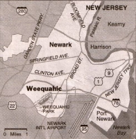 Map of Weequahic