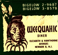 Weequahic Diner Match Book Cover.jpg