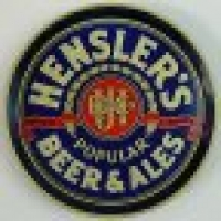 Hensler Beer Bottle Cap