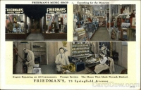 Friedmans Music Shop, Springfield Ave., Newark