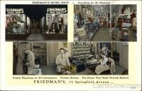 Friedmans Music Shop, Springfield Ave., Newark
