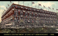 Hahnes Department Store - 1908