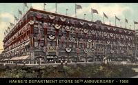 Hahnes Department Store - 1908