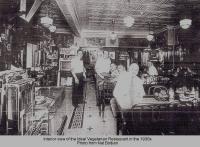 Ideal Vegetarian Restaurant in 1930s