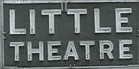 Little Theatre Sign