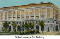 Veterans Admin. Building formerly the Globe Insurance Co. Building