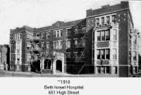 Beth Israel Hospital 1910