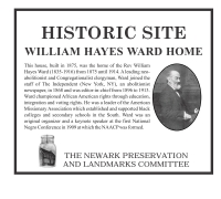 William Hayes Ward Plaque