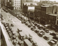 Broad Street Traffic in 1924