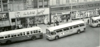 Buses in Downtown Newark