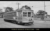 Public Service Street Car - 1940